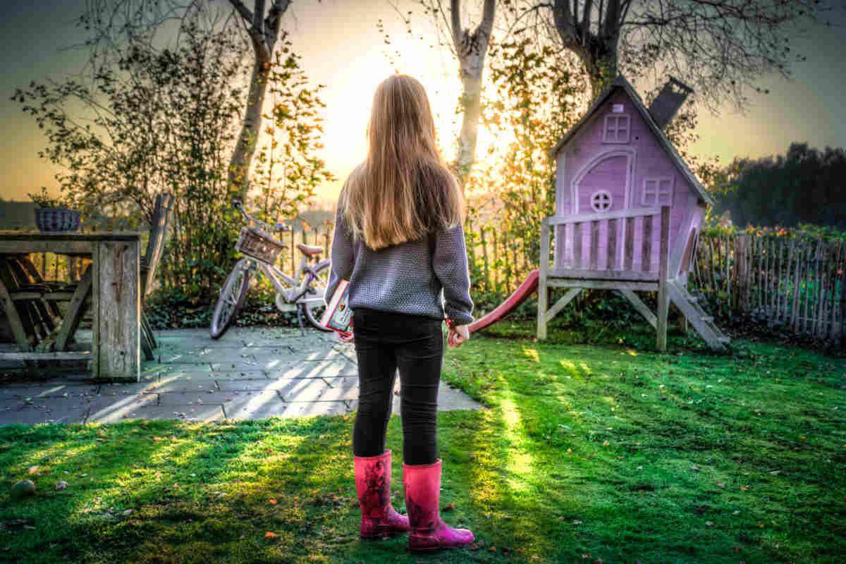 Domek dla dzieci do ogrodu – marzenie przedszkolaka