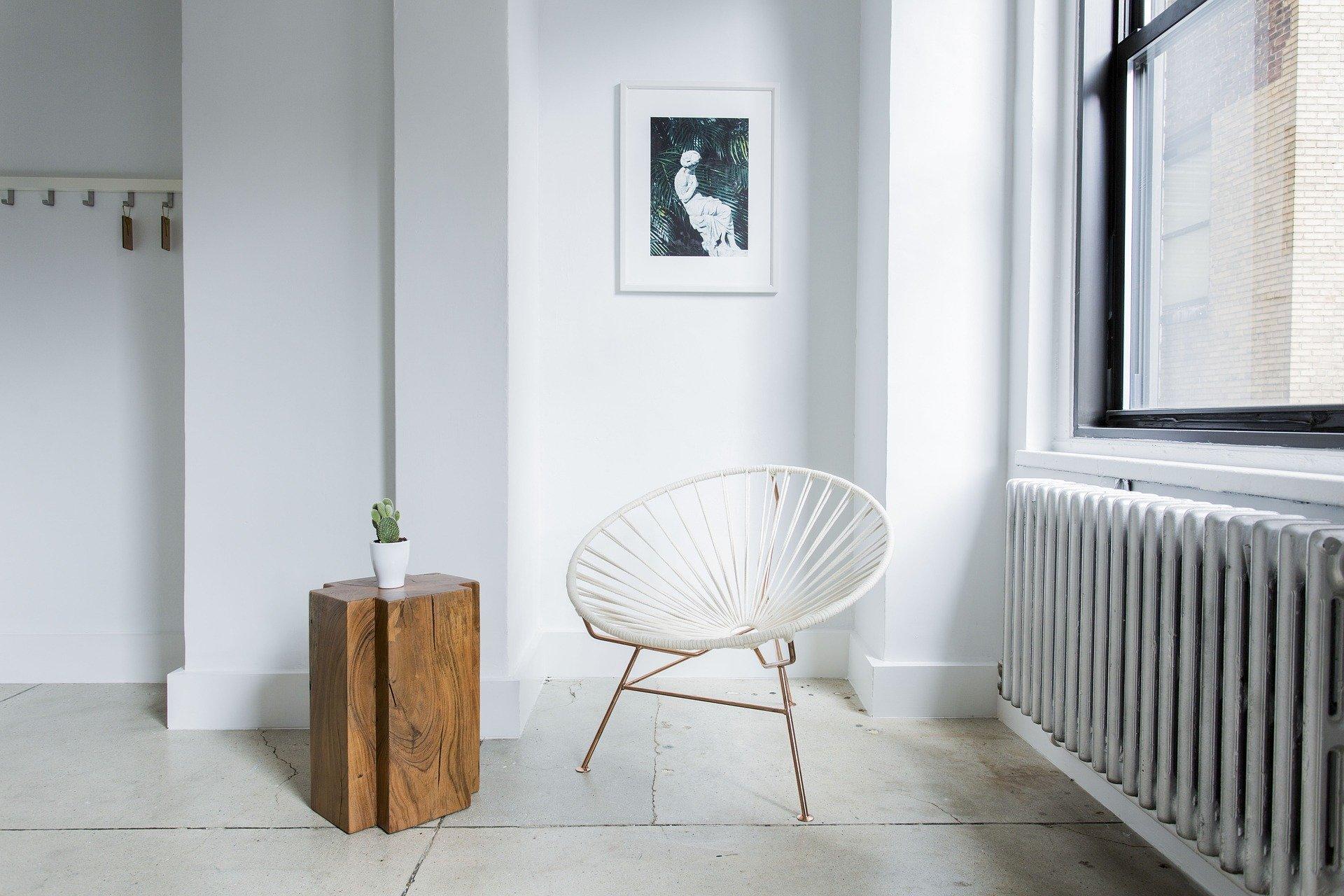 Farby ekologiczne - czym pomalować ściany w pokoju dziennym?